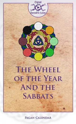 The Wheel of the year and the Sabbats | The #WheeloftheYear is a #Pagan Calendar where it is possible to observe the 8 #Sabbats. It is very popular nowadays in #Wicca and Modern #Witchcraft. Learn here: What is the Wheel of the Year? What's the relation between it with the God and the Goddess? What is the meaning of each Sabbat? And more...