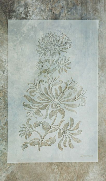 Damask Stencils For Walls Painting