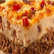 Ore-Ida® Cowboy Meatloaf and Potato Casserole
