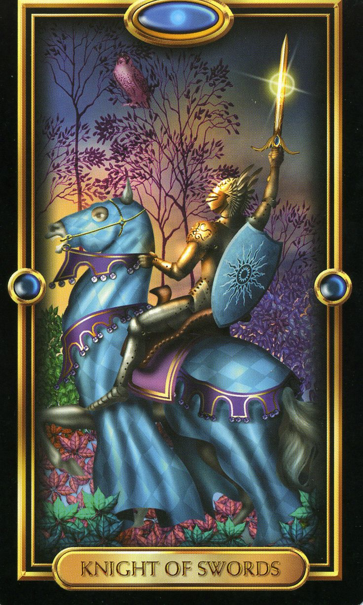 17 Best Images About Gilded Tarot On Pinterest