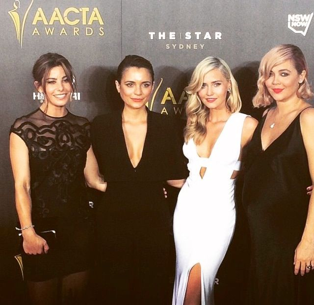 Girls of Wonderland at AACTA's 2015.