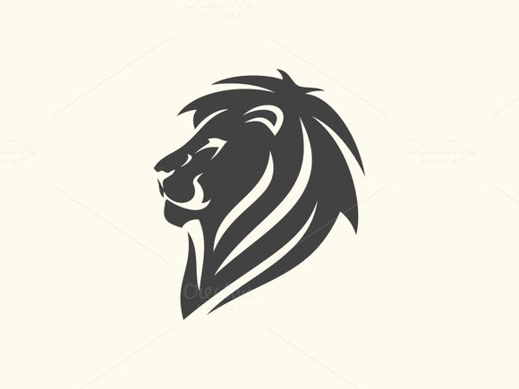 Lion Head by Brandlogo on Creative Market