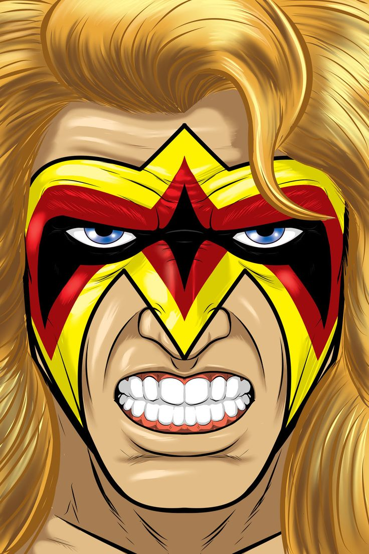 So much pileup vintage pro wrestling logos - Ultimate Warrior By Thuddleston Deviantart