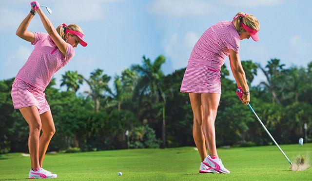 Golf Instruction Lexi Thompson Lpga Tour Pinterest
