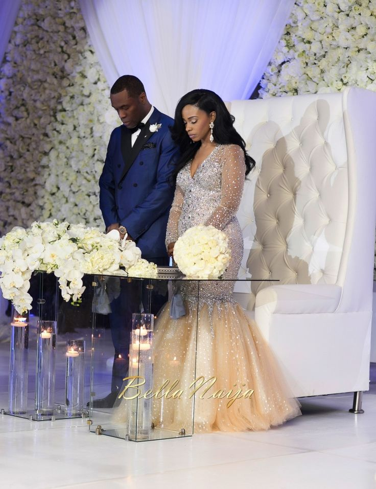 Nigerian Celebrity Wedding Dresses : Ezinne uchenna nigerian wedding in houston texas usa dure