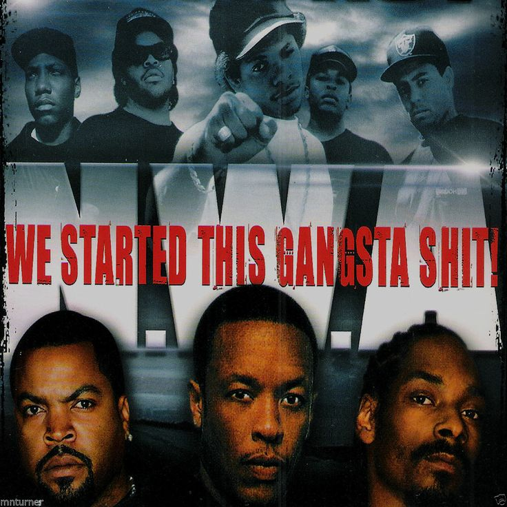 "NWA ""WE STARTED THIS GANGSTA SH*T"" - Collector's Mixed CD - DJ IMPACT"