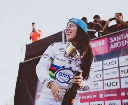 Mariana Pajon do ciclismo da Colômbia - Foto: Reprodução