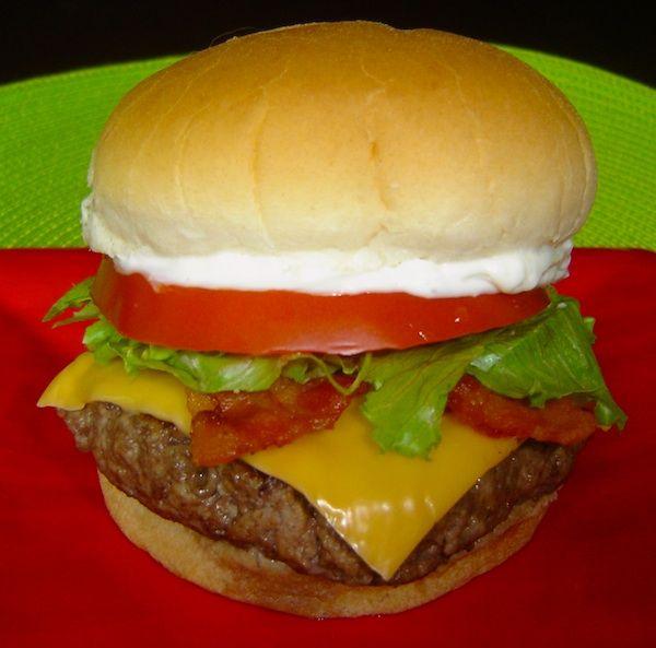 Top Secret Recipes   Wendy's Junior Bacon Cheeseburger Recipe