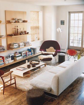 {Living room.}
