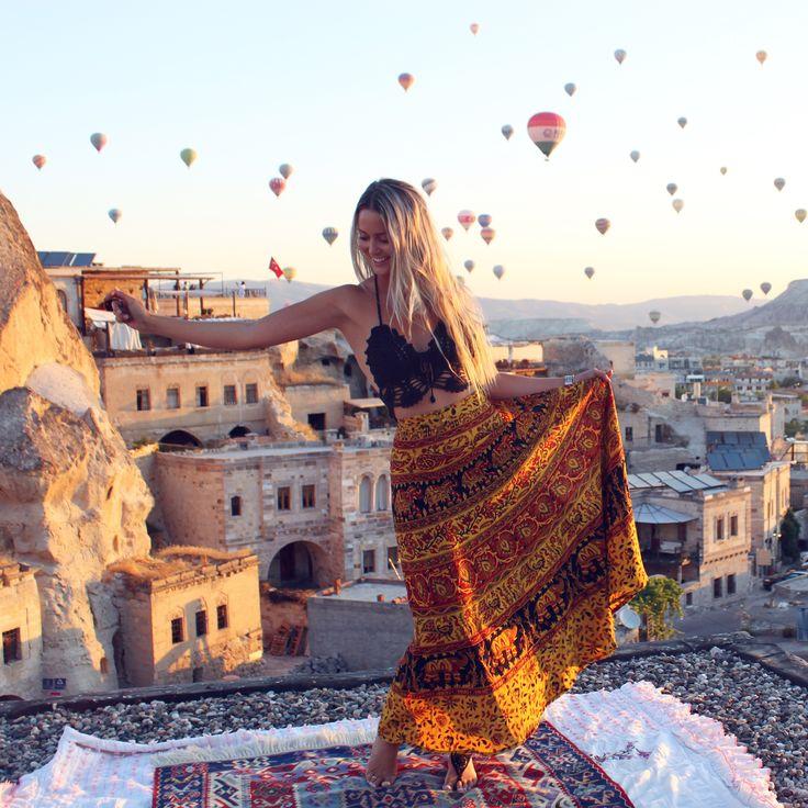 Instagram: @courts_tyler Sultan Cave Suites, Cappadocia