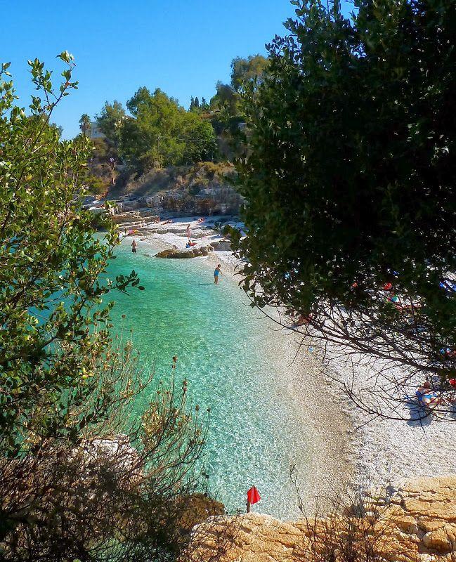 Mit Blick nach Albanien: Kassiopi #Korfu #Griechenland