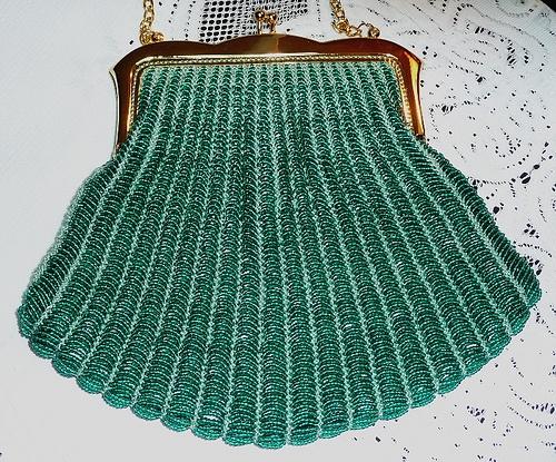 Patterns vintage beaded purse Victorian Purses