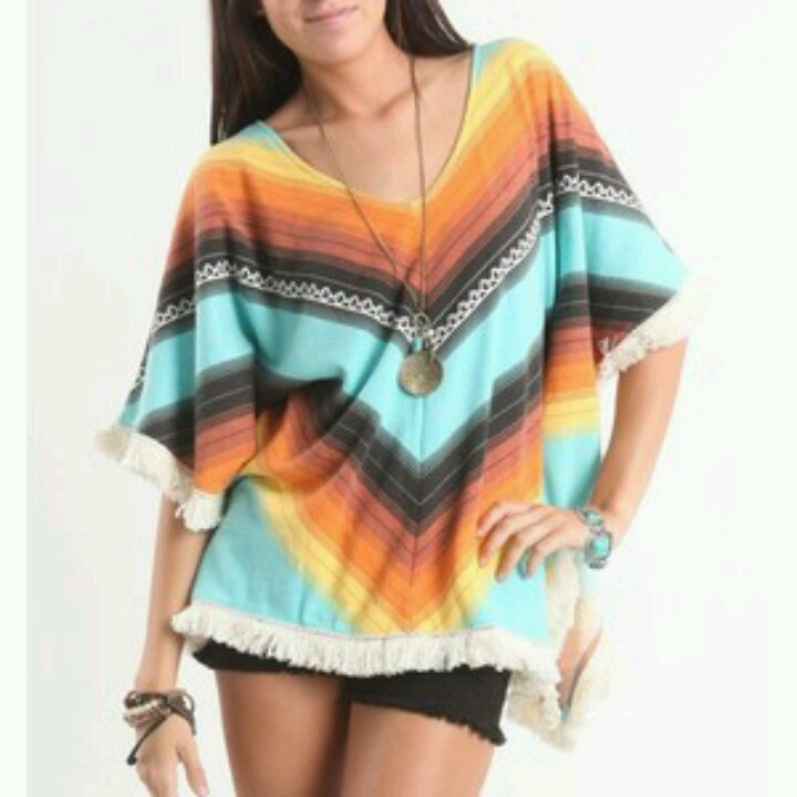 Poncho come back! In Love! :)) Pacsun!
