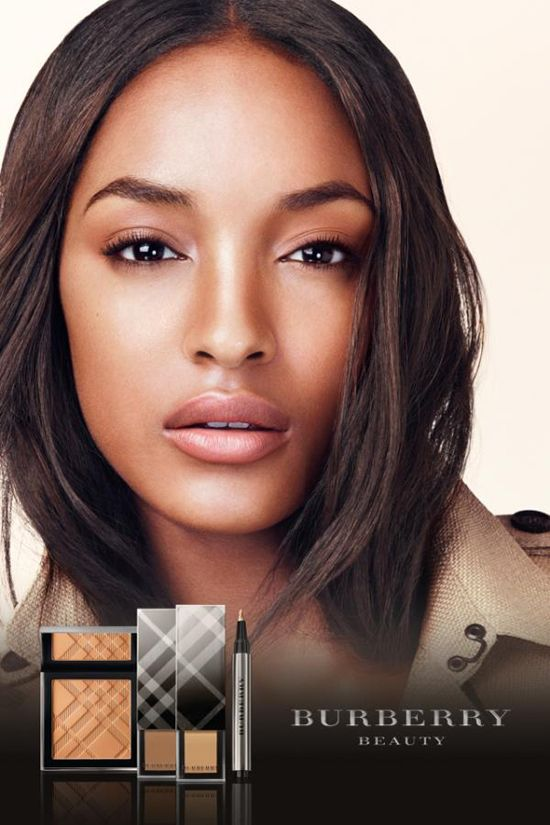 Burberry foundation for brown skin.