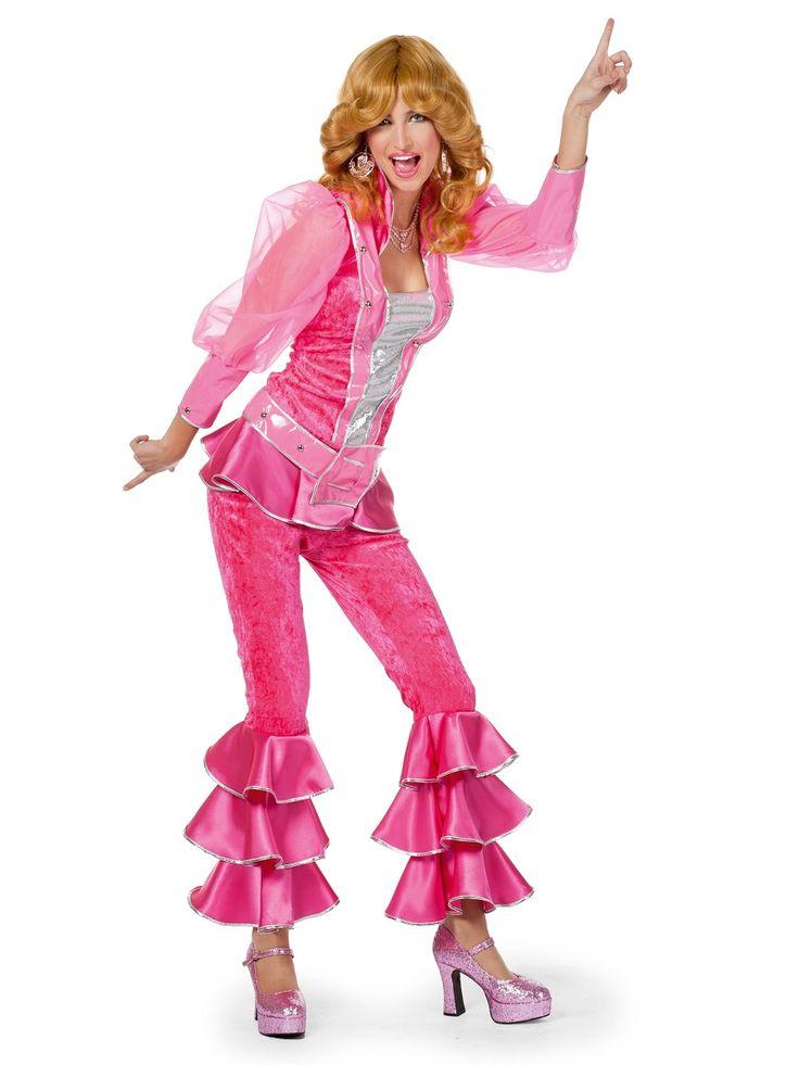 adult pink mamma mia costume  mamma mia costums