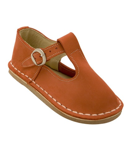Buckle Shoe - Orange