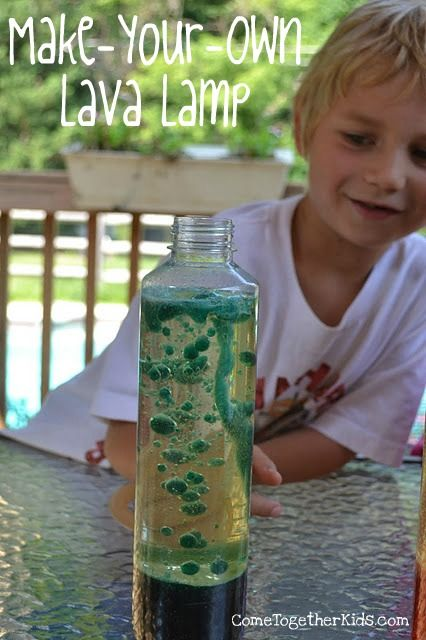 Making a lava lamp