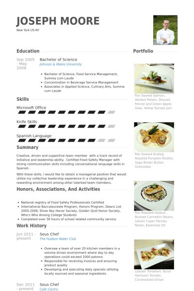 Más de 25 ideas increíbles sobre Chef resume en Pinterest Diseño - executive chef resume