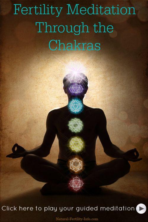 Fertility Meditation Through The Chakras #InfertilityStressManagement