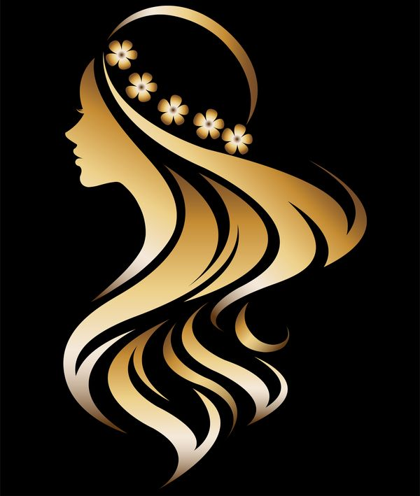 fashion women sign with logo vectors