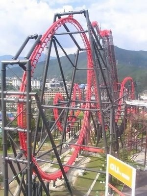 amazing roller coasters - Bing Images