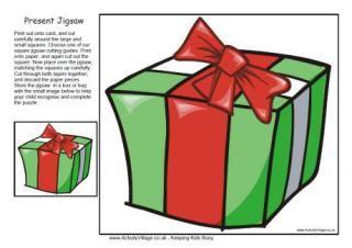 Christmas Present Jigsaw