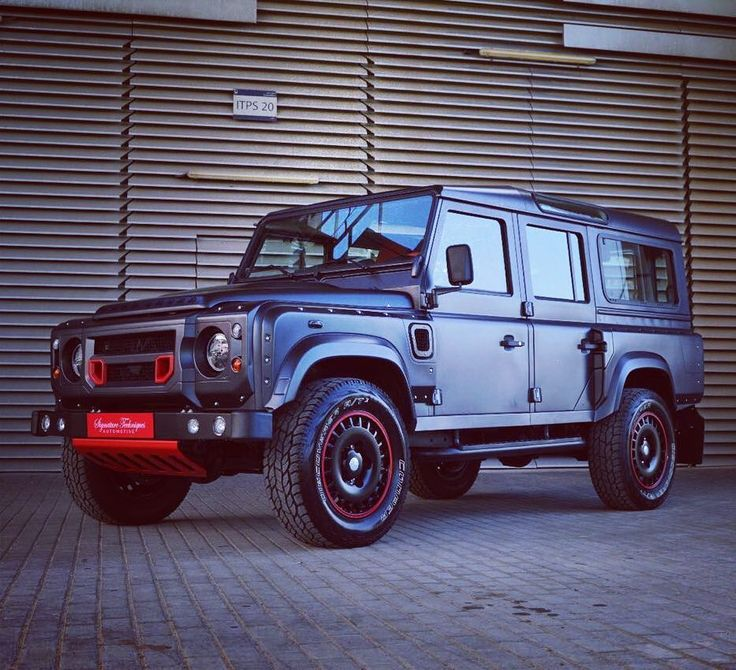 Land rover  Defender 110 custom by Falcon Gray.