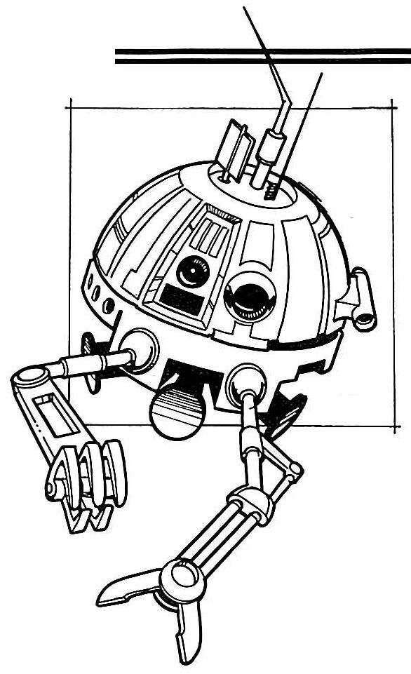 Astromech Droid R2