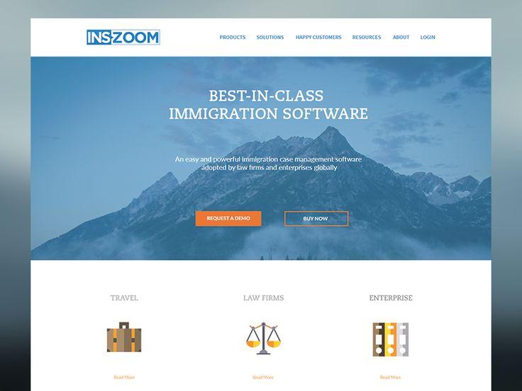 INS Zoom Website by Anoop Joy - Dribbble