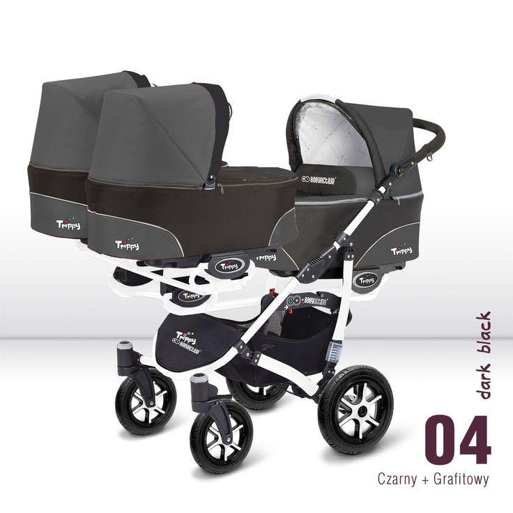 Triple trillizos Cochecito Cochecito BabyActive Trippy 2017 3 en 1 Sistema De Viaje/   Bebés, Coches para bebés y accesorios, Coches para bebés   eBay!