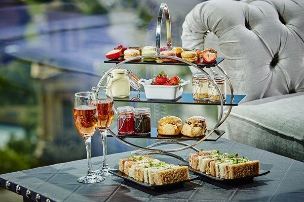 Champagne Afternoon Tea for Two at Marco Pierre White Restaurant, Birmingham from Buyagift