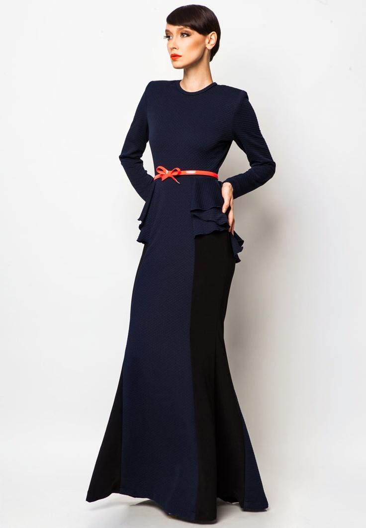 Rizalman for Zalora - Bridgette Peplum Dress