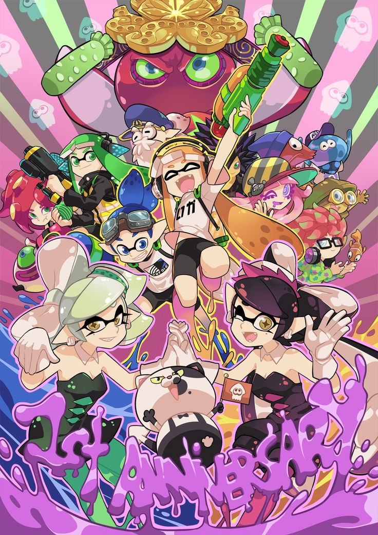 Campaign was great, but I truly love all the characters Splatoon brings to the table.