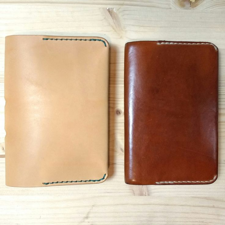 How natural leather changes in time. New vs. used(less than 1 year)