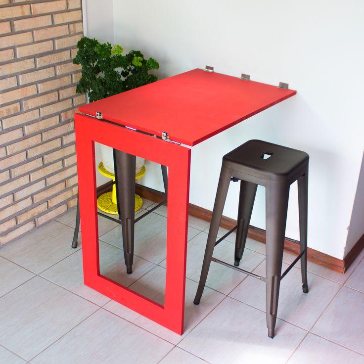 DIY - Mesa/ Espelho Dobrável  Confira o passo a passo completo em www.youtube.com/diycore