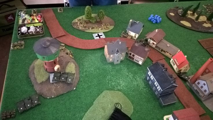 Flames of War gaming at Gliwice.