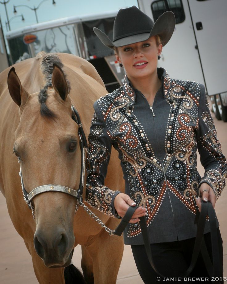 If you've not been in our showroom in the past year, you've missed out on the show-stopping show jacket garnering so much attention. Designed by Liz Workland from Idaho's Dry Creek Designs, the cus…