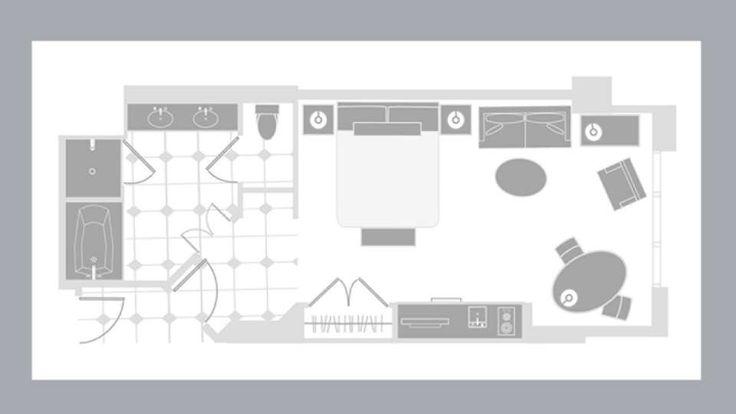 Mgm Signature Two Bedroom Suite Floor Plan | Savae.org