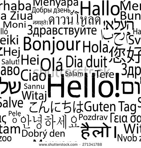 speaking in different languages art - Google Search