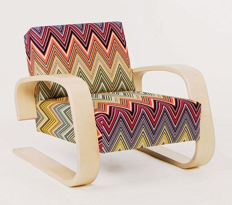 Missoni marvellousness ... not so into the style, yes designed by Alvar Aalto but look at the pattern!