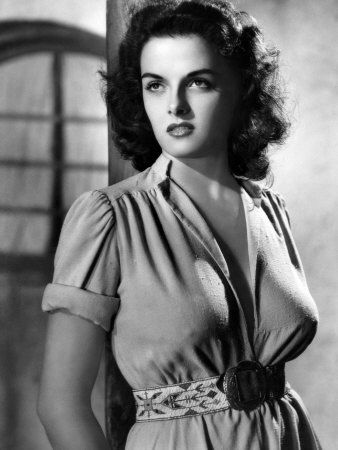 Jane Russell. She has boobs. This is what Rocky would look like with boobs.