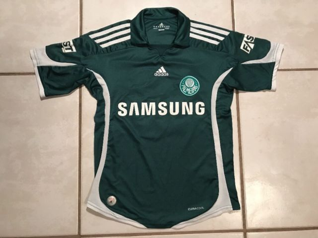 Rare ADIDAS Palmeiras Brazil #10 2009 Soccer Jersey Youth Medium | eBay