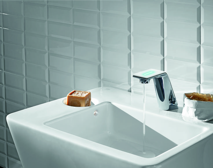 Alessi Sense by Oras #oras #alessi #waterisworthloving #luxury #faucet #bathroom #water