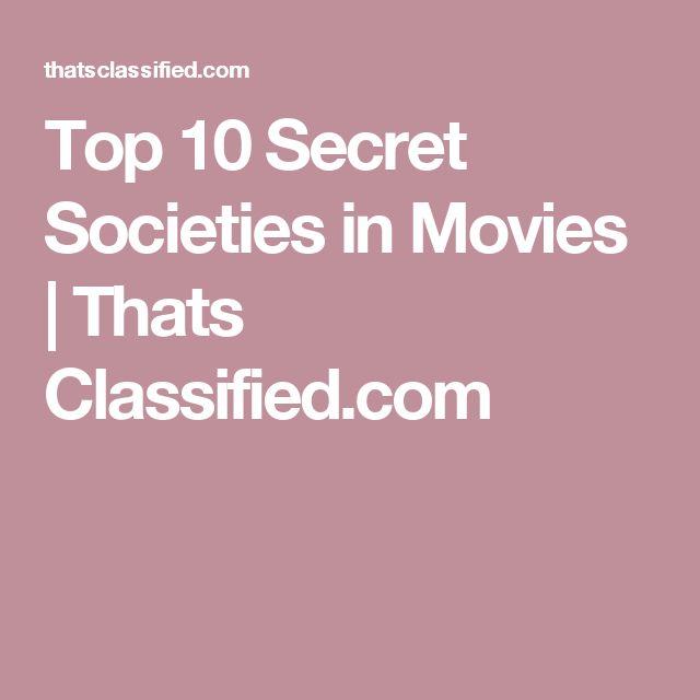 Top 10 Secret Societies in Movies | Thats Classified.com