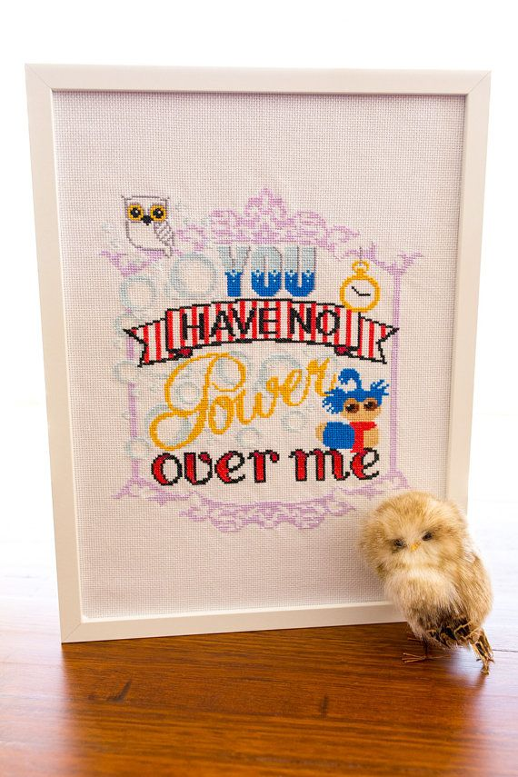 Do you always forget that line too? How about a reminder to hang on your wall? No Goblin King has Power over you! Labyrinth Cross Stitch Digital Pattern
