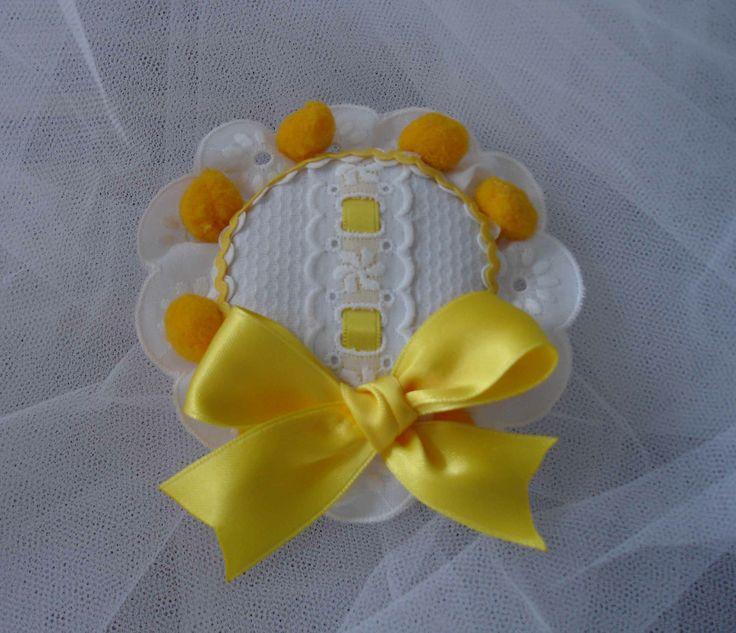 Tocado amarillo Aitana 2