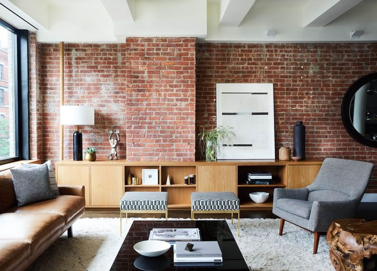Living Room | Tribeca Loft by Sheep + Stone and Frances Mildred Architects | est living