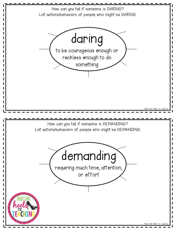 Best Character Traits Images On   Reading Teaching