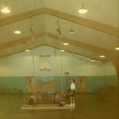 Image result for rope gym 1970