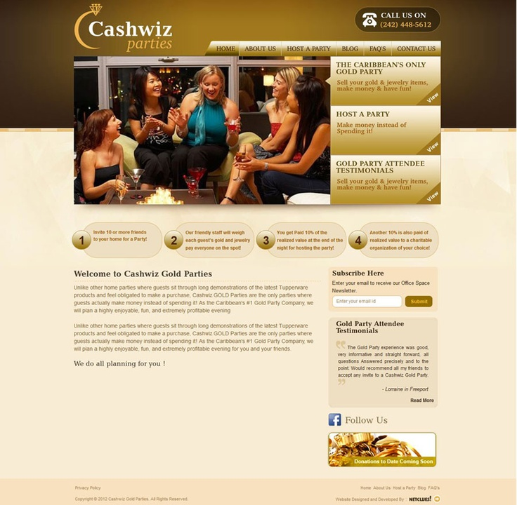 Cashwiz parties